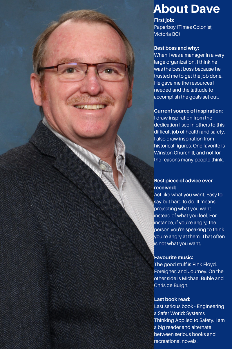 An Interview with new BCRSP Governor Dave Rebbit, MBA, CRSP